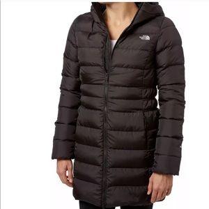 North Face Down Black Coat